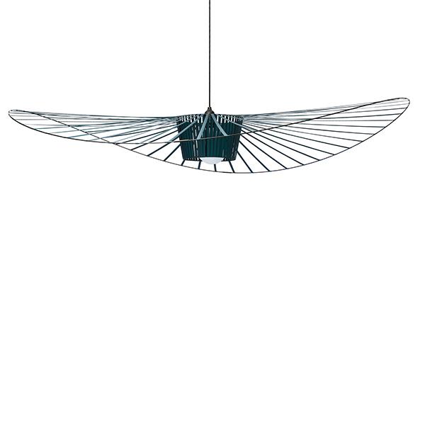 Petite Friture Lampada a sospensione Vertigo, grande, verde