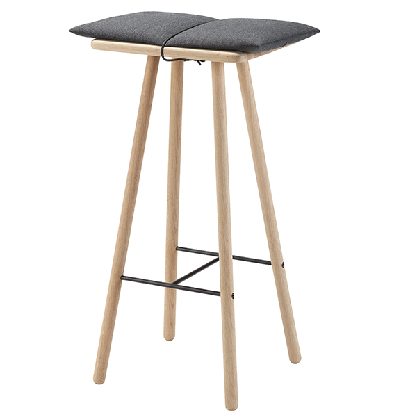 Skagerak Georg bar stool, high, oak