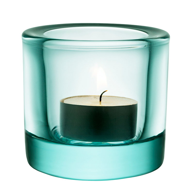 Iittala Kivi votive, water green