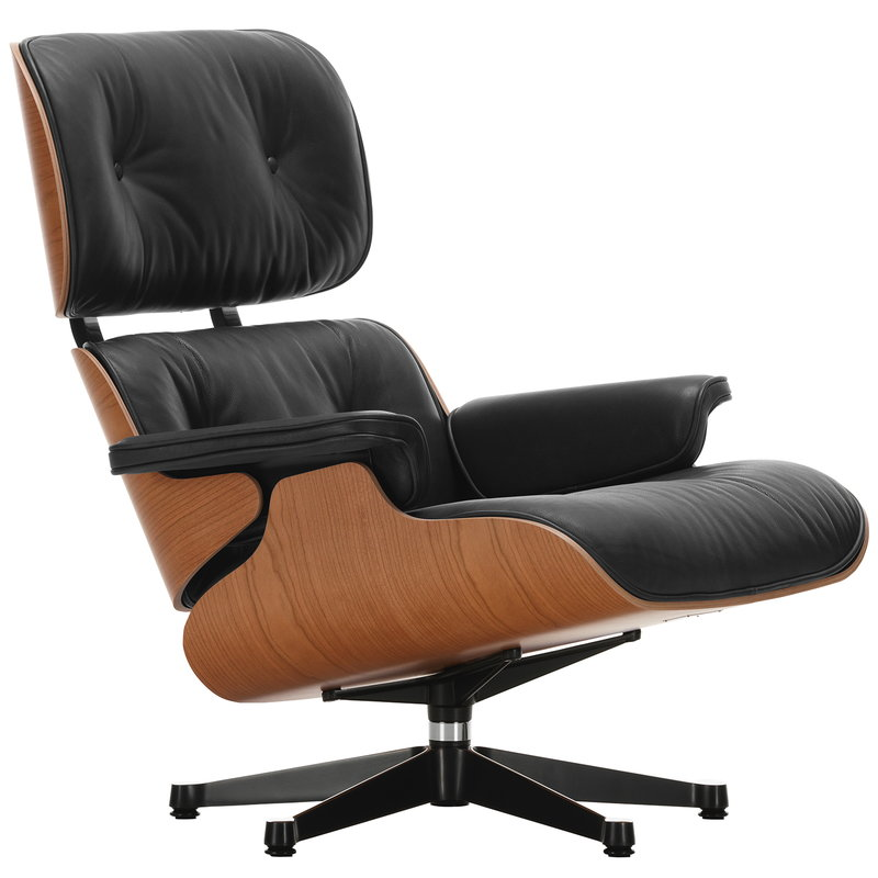 ChairClassic Cherry Eames SizeAmerican Black Vitra Lounge hCQrtds