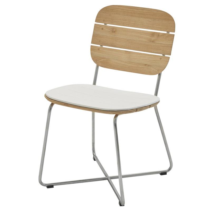 Skagerak Lilium chair cushion, white
