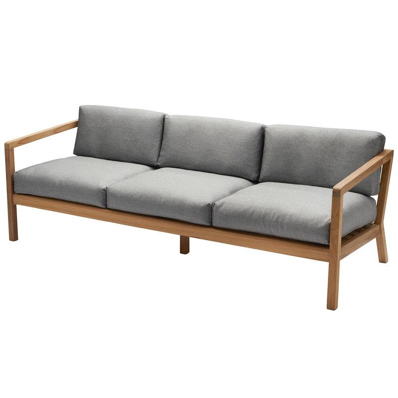 Skagerak Virkelyst 3 Seater Sofa Teak