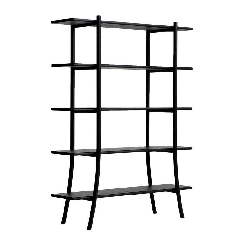 Ariake Skyladder shelf, high, black
