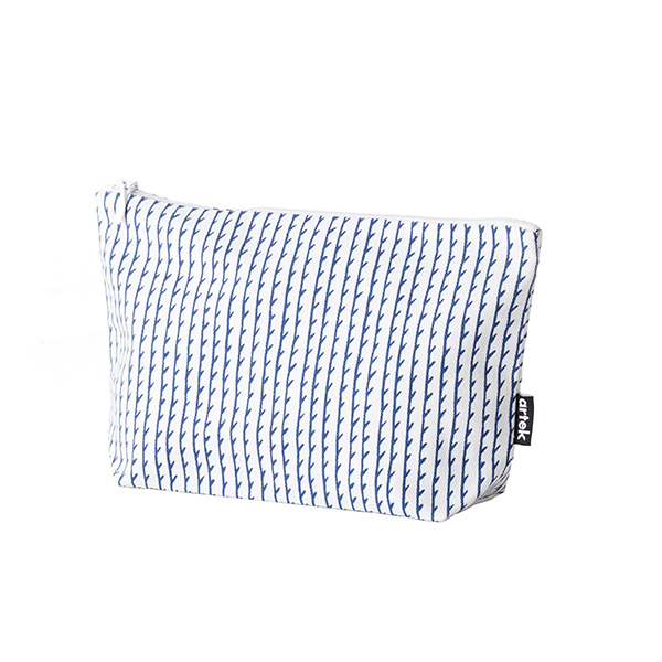 Artek Rivi pouch, small, white-blue