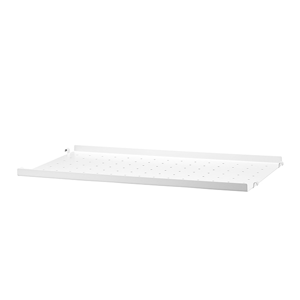 String String metal shelf, 58 x 30 cm, low, white