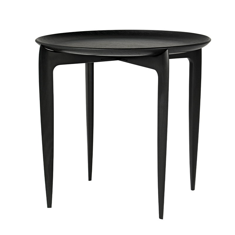 Fritz Hansen Tray table, black