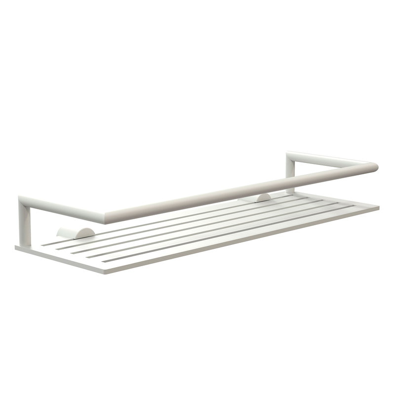 Frost Nova2 shower shelf 4, white