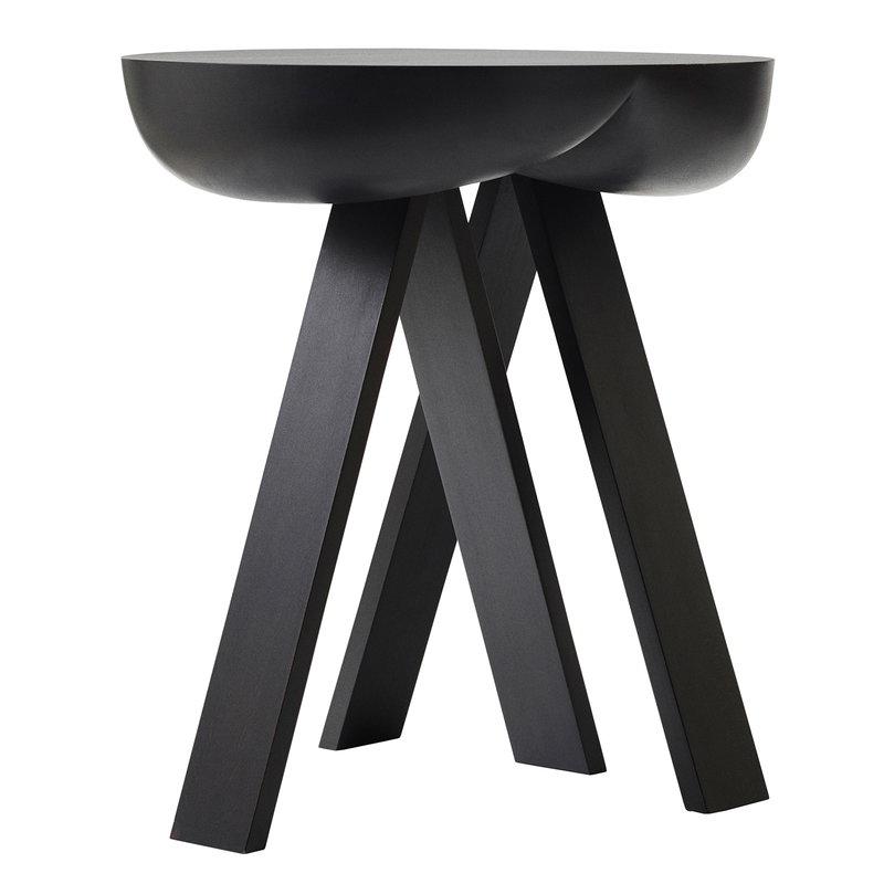 Karakter Side Table No. 2 sivupöytä, musta