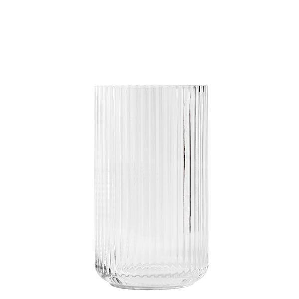 lyngby porcelain lyngby glass vase 25 cm clear finnish design shop. Black Bedroom Furniture Sets. Home Design Ideas