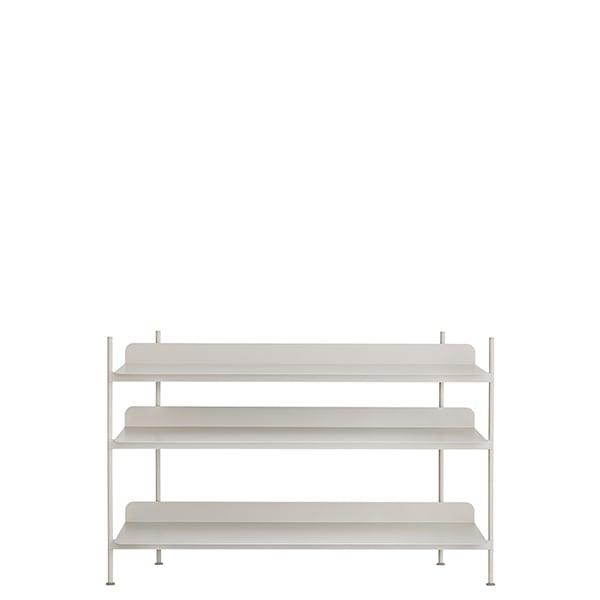 Muuto Compile shelf, Configuration 2, grey