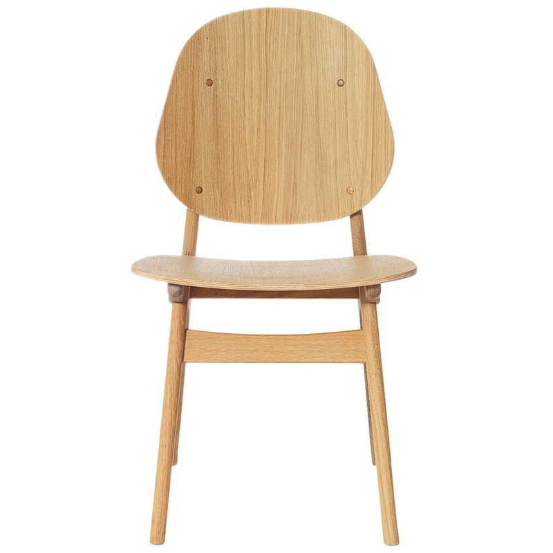 Warm Nordic Noble chair, white oiled oak