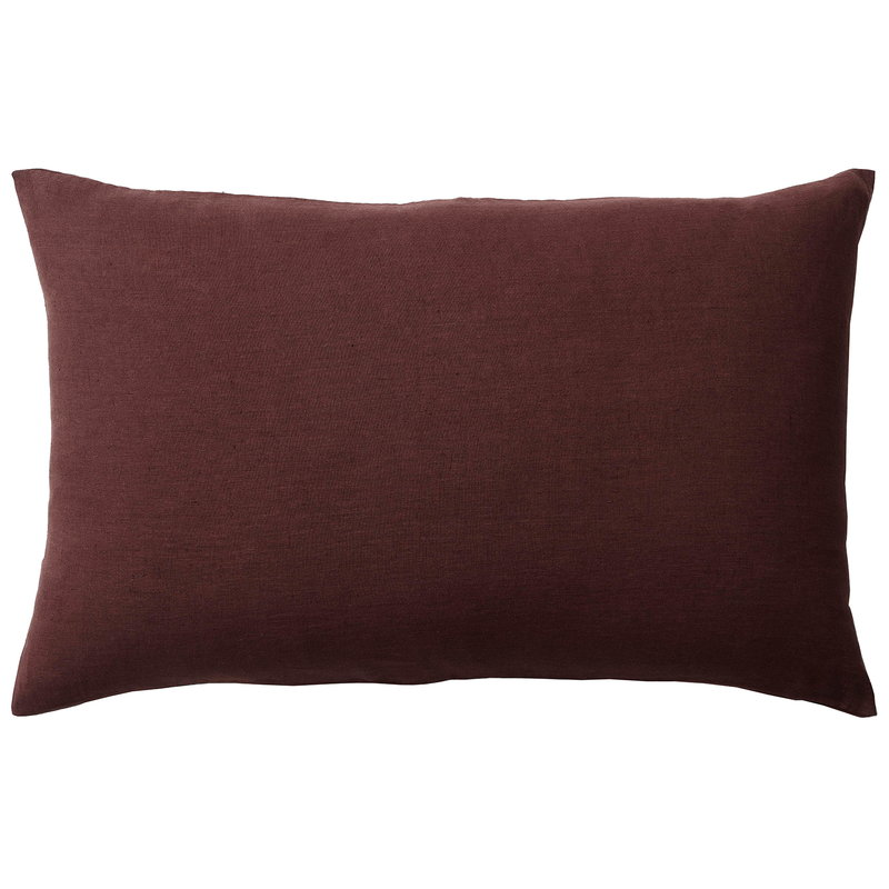 &Tradition Collect Linen SC30 tyyny, 50 x 80 cm, burgundy
