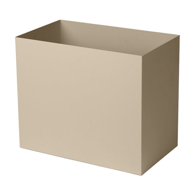 Ferm Living Plant Box pot, large, cashmere