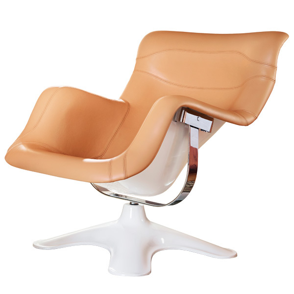 Artek Karuselli chair, nougat-white