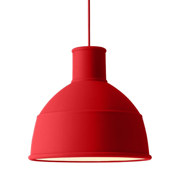Muuto Lampada Unfold, dusty red