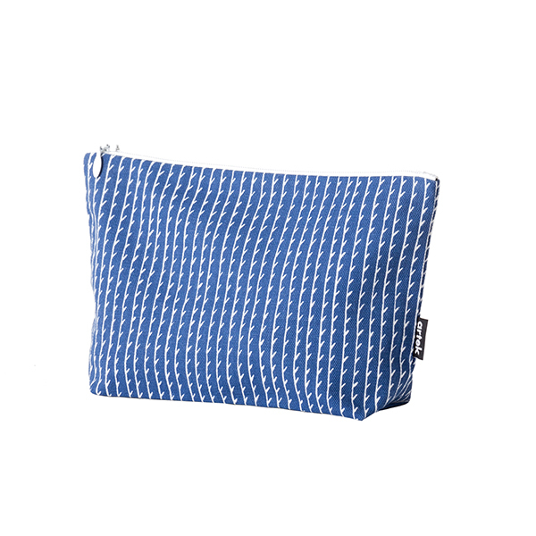 Artek Rivi pouch, small, blue-white