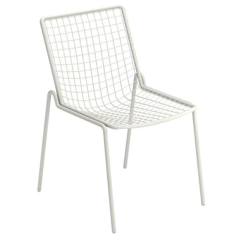 Emu Rio chair, matt white