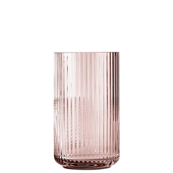 lyngby porcelain lyngby glass vase 25 cm burgundy finnish design shop. Black Bedroom Furniture Sets. Home Design Ideas
