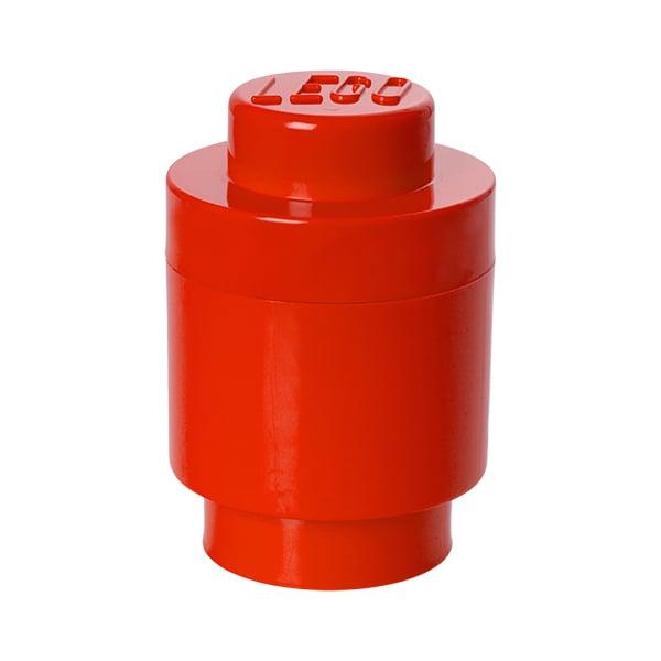 Room Copenhagen Lego säilytysrasia 1 pyöreä, punainen