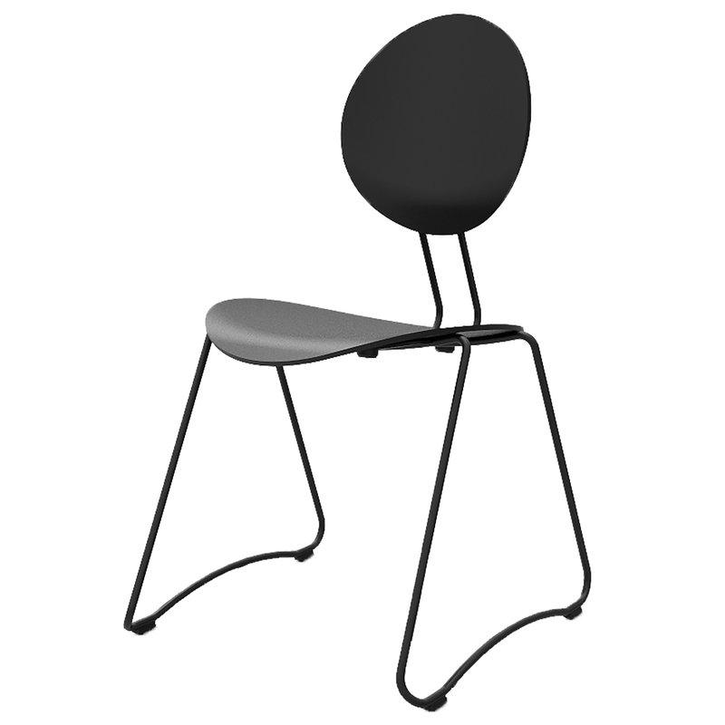 Verpan Flex chair, black