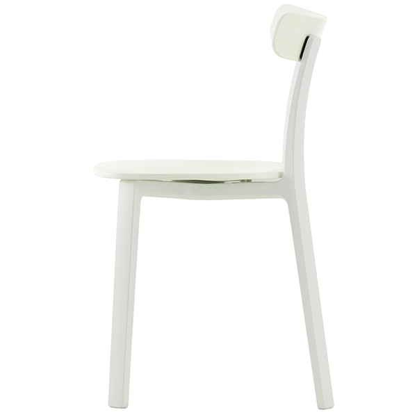 Vitra All Plastic Chair, valkoinen