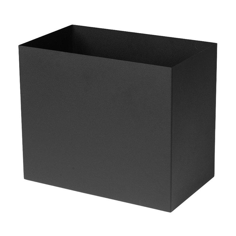 Ferm Living Plant Box pot, large, black
