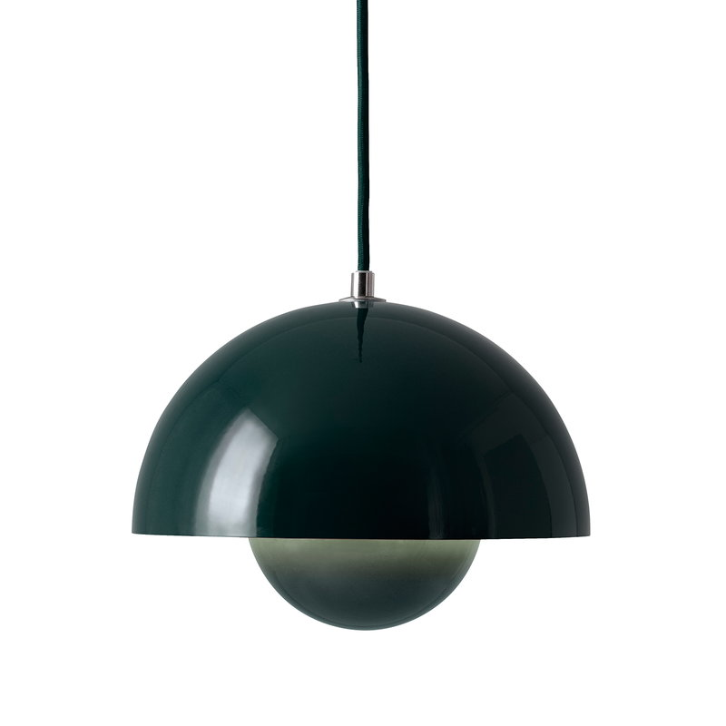 &Tradition Flowerpot VP1 pendant, dark green