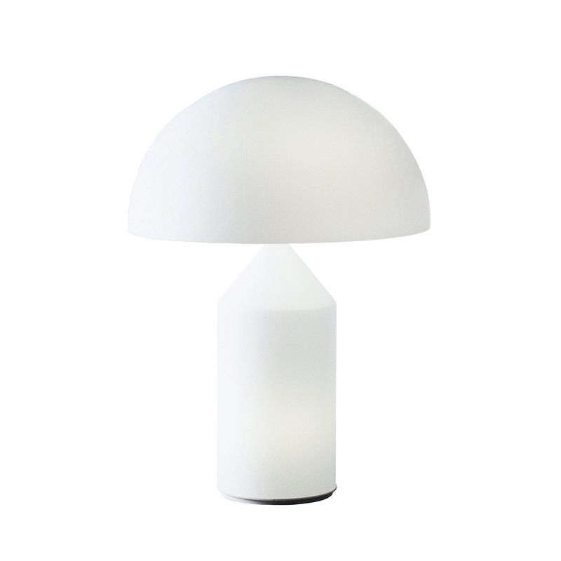 Oluce Atollo 236 table lamp, white