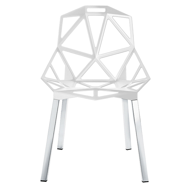 Magis Chair One white polished aluminium legs  sc 1 st  Finnish Design Shop & Magis Chair One white polished aluminium legs | Finnish Design Shop