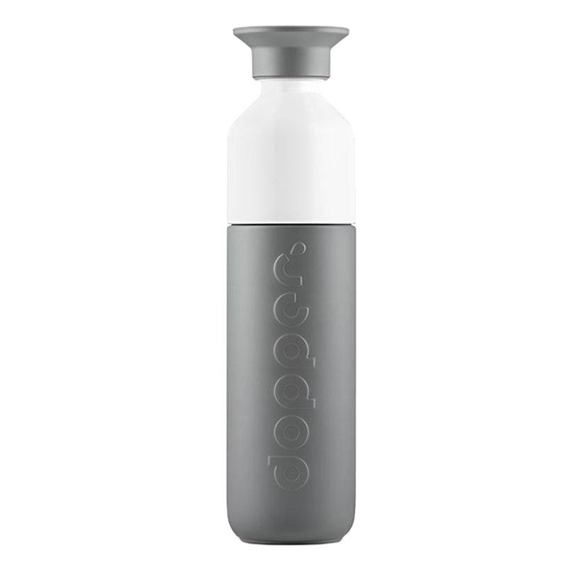 Dopper Dopper juomapullo 0,35 L, lämpöeristetty, glacier grey
