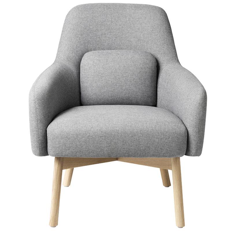 FDB Møbler L33 Gesja armchair, light grey