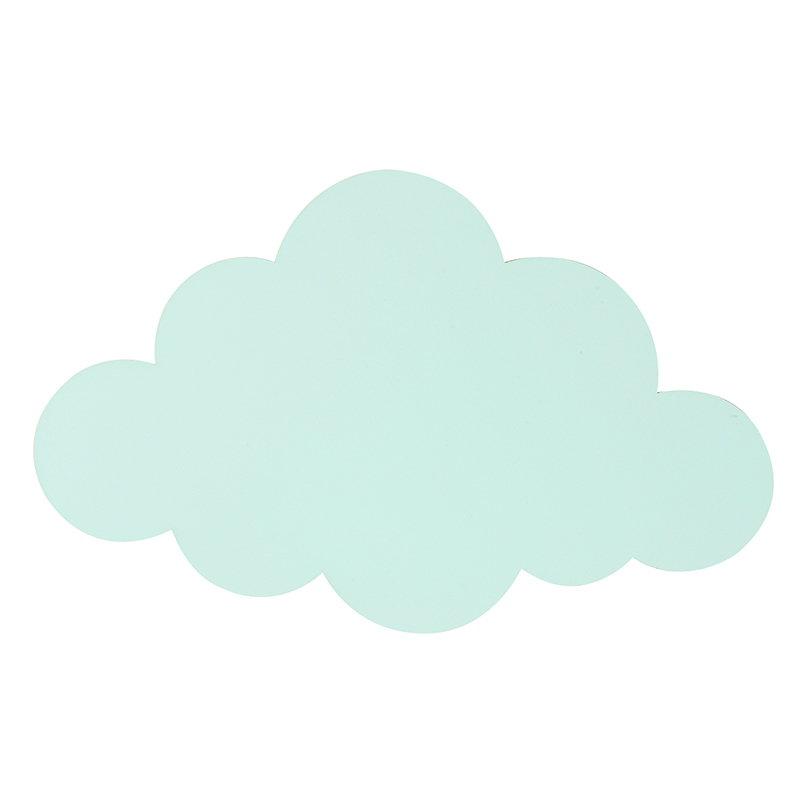 Ferm Living Cloud seinävalaisin, minttu