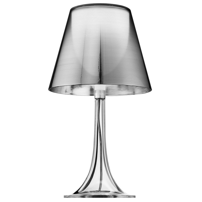 Flos Miss K table lamp, silver