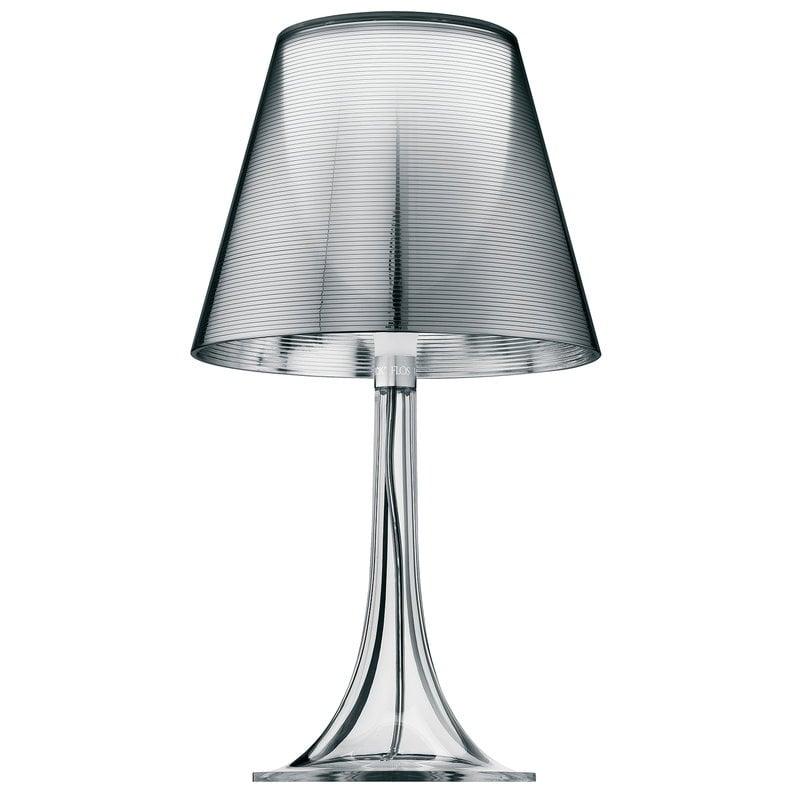 Lampada Da Tavolo Design.Lampada Da Tavolo Miss K Trasparente