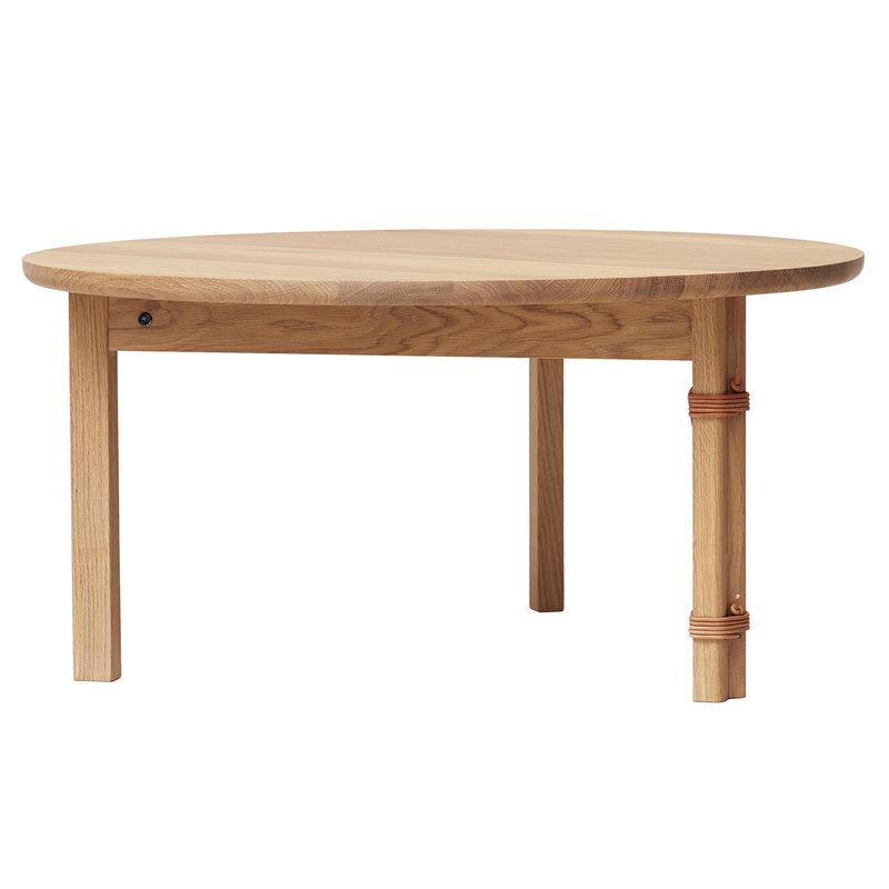 Form & Refine Strap coffee table, oak