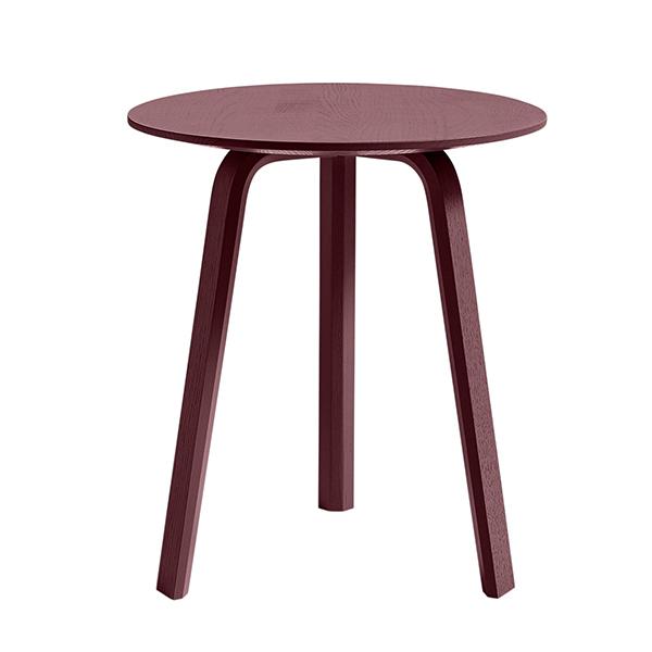 Hay Bella sivupöytä 45 cm, korkea, dark brick