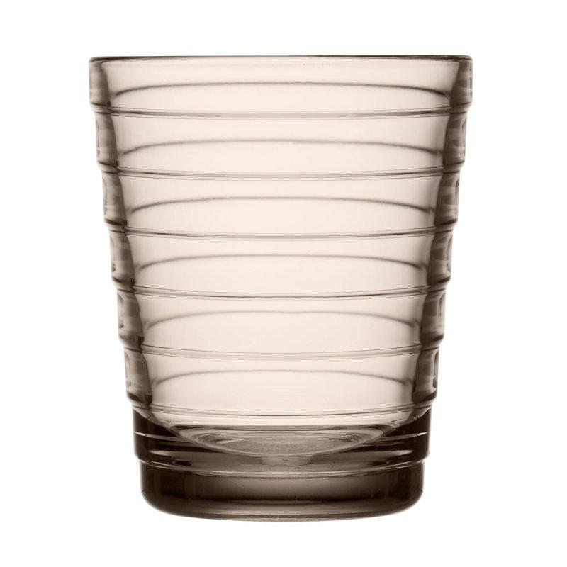 Iittala Aino Aalto juomalasi 22 cl, 2 kpl, pellava