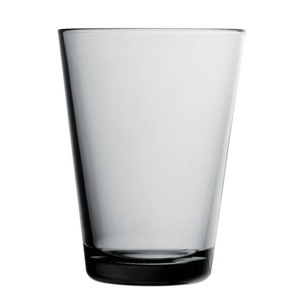 Iittala Kartio tumbler 40 cl, grey, set of 2
