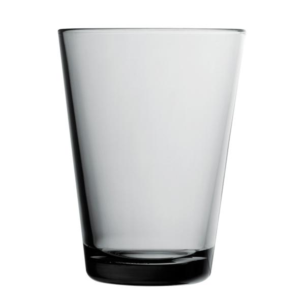 Iittala Bicchiere Kartio 40 cl, grigio, 2 pz
