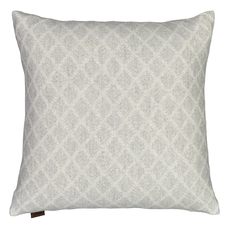 Langø Merino cushion cover, light grey-white