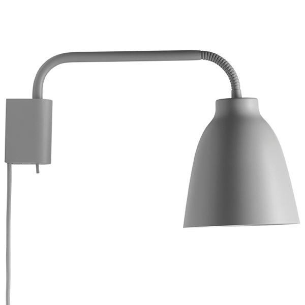 Fritz Hansen Caravaggio Read wall lamp, light grey