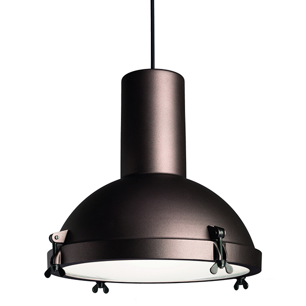 Nemo Lighting Projecteur 365 pendant, outdoor, moka