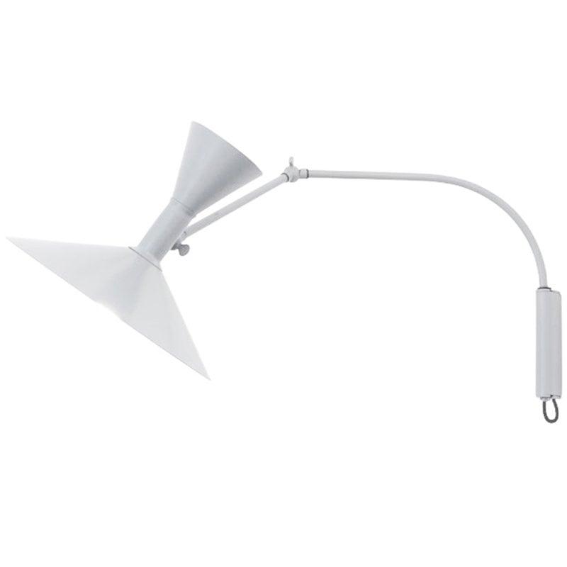 Nemo Lighting Lampe de Marseille Mini seinävalaisin, valkoinen