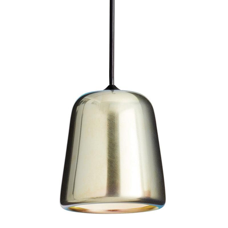 New Works Lampada Material, acciaio giallo