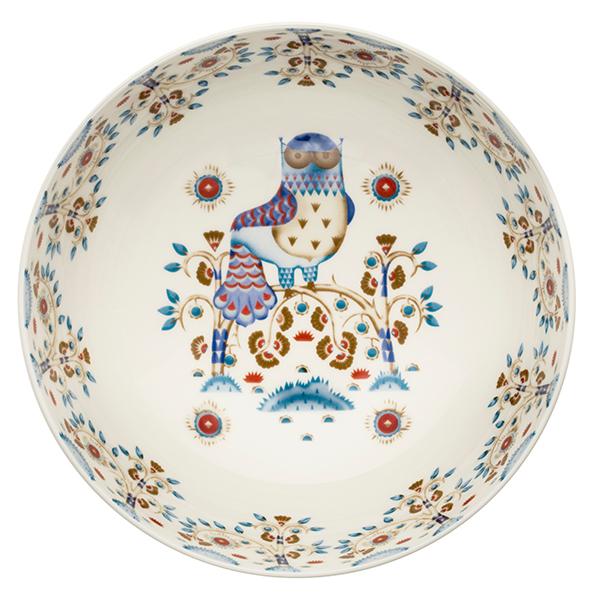 Iittala Taika serving bowl 1,45 L, deco white