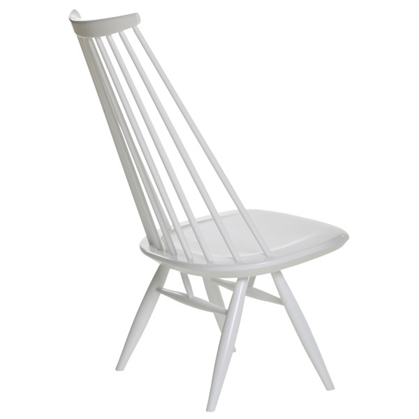Artek Mademoiselle lounge chair, white