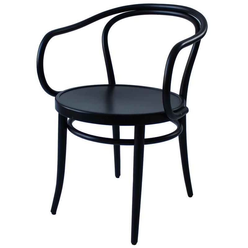 TON Armchair 30, black