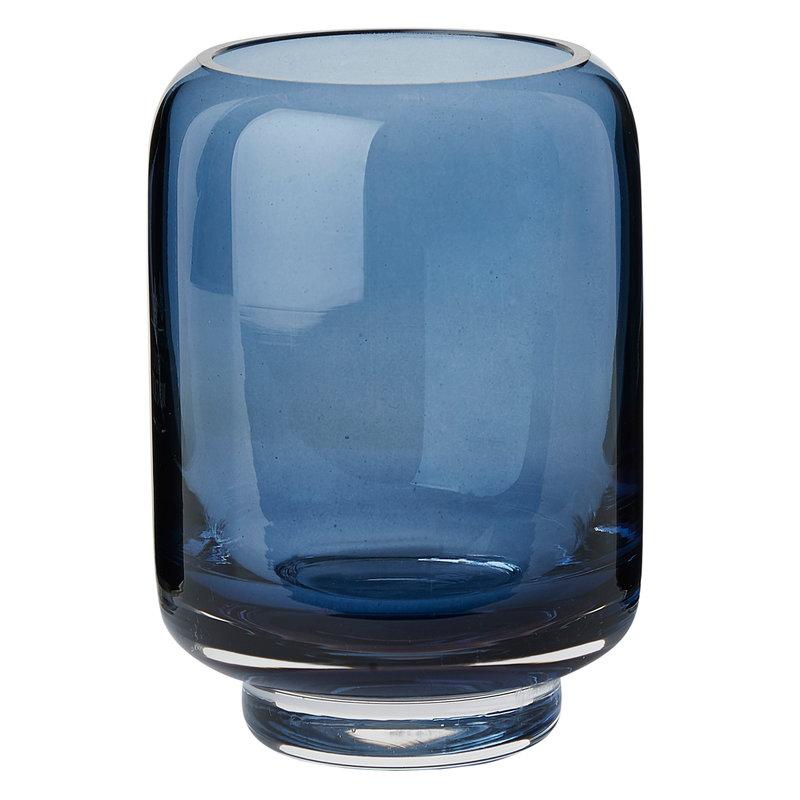 Warm Nordic Stack vase, petrol