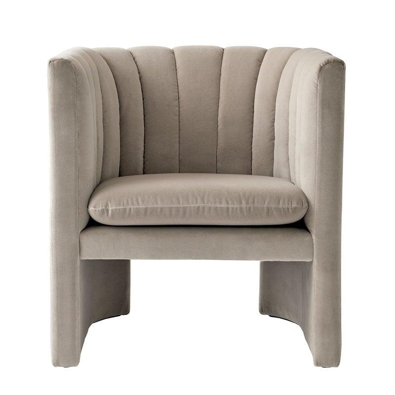 &Tradition Loafer SC23 lounge chair, Velvet 13 Ivory
