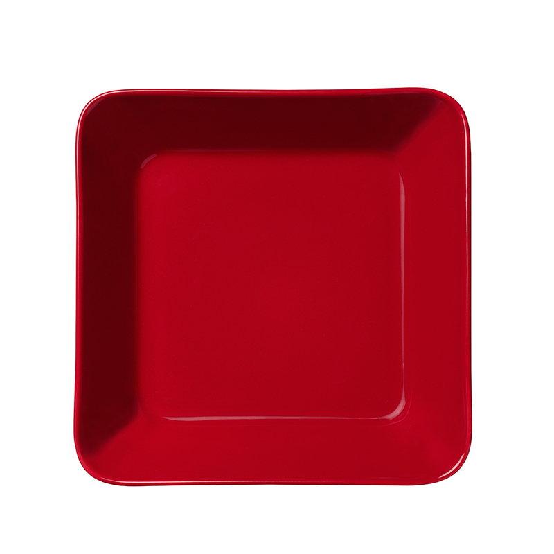 Iittala Vassoio Teema 16x16 cm, rosso